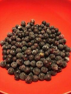 grapes before making jam