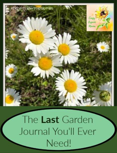 garden journal cover