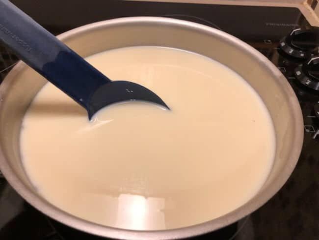 warming milk